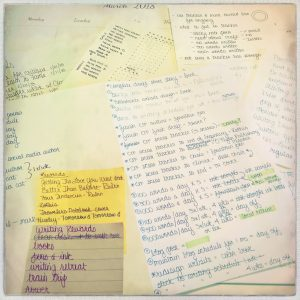 writing rewards planning scraps